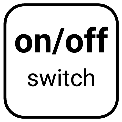on/of switch